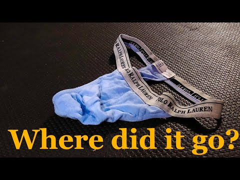 Where did it go -  Polo Ralph Lauren Thong!