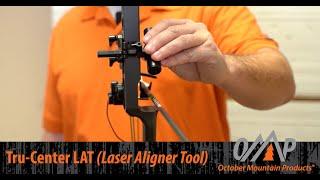 October Mountain Products - Tru-Center LAT (Laser Aligner Tool)