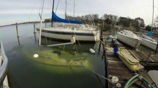 1 26 2016 Sail Boat Salvage