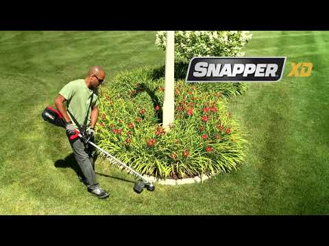 Snapper XD 82V Max Lithium-Ion Cordless String Trimmer (SXDST82K) in Evansville, Indiana - Video 1