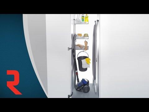 Système de rangement pour armoire à balai Sesam
