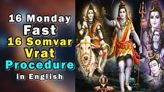 16 MONDAY FAST PROCEDURE & IMPORTANCE IN ENGLISH | 16 सोमवार व्रत की विधि और महत्व  by JMV