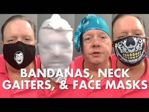 Custom Branded Facemasks, Bandanas and Neck Gaiters from Big Promotions
