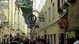preview picture of video 'Die Getreidegasse in Salzburg'