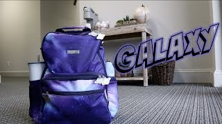 PACK WITH ME // Ju-Ju-Be Be Zealous // Galaxy Print