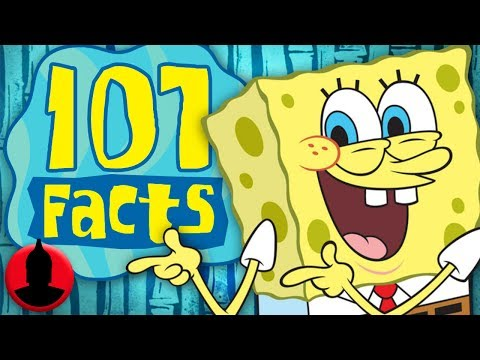 107 SpongeBob SquarePants Facts YOU Should Know - Cartoon Character Facts! (107 Facts S6 E18)