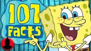 107 SpongeBob SquarePants Facts YOU Should Know (107 Facts S6 E18) | Channel Frederator