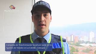 TV MUNICIPIOS – EN LA ESTRELLA – ANTIOQUIA TRABAJA POR LA SEGURIDAD VIAL EN EL MUNICIPIO