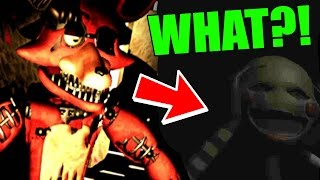SECRET FNAF ANIMATRONIC EASTEREGG FOUND! | OverNight 2 (Free