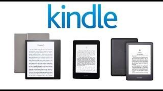Amazon Kindle Lineup 2019 Comparison - Paperwhite vs Oasis vs Basic