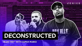 """The Making Of Drake's """"Blue Tint"""" With Supah Mario 