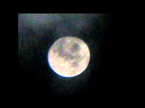 Moon Through My 76mm Reflector Telescope