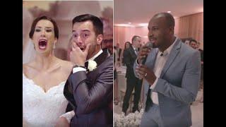 Thiaguinho Surpreende Noivos No Casamento