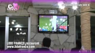 presentazione nuovo ristorante Lido Franco con CRAZY LOVE TV