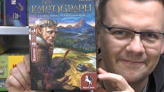 Der Kartograph (Pegasus Spiele) - ab 10 Jahre - nominiert zum Kennerspiel des Jahres 2020