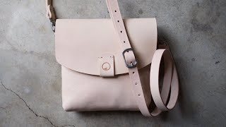 Making A Leather Crossbody Bag By Hand