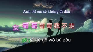 [Vietsub - pinyin] Em đừng đi (tik tok) - Sơn Thủy Tổ Hợp || 山水组合-你莫走(抖音)