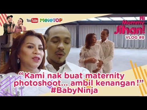 Hi Mommy Jihan Vlog #8 | Kami nak buat maternity photoshoot... ambil kenangan #BabyNinja
