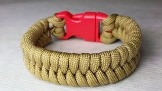 How to make a Fishtail Paracord Bracelet by ParacordKnots