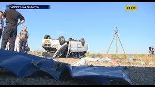 5 дітей та один дорослий загинули в моторошній аварії на трасі неподалік Запоріжжя