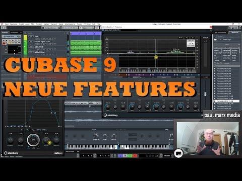 Cubase 9 Review - Neue Features in Cubase Elements, Artist und Pro (german)