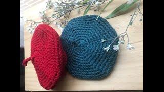 Crochet a Newborn Beret Hat