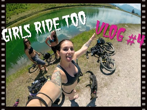 Girls Ride Too l MTB Freeride l Miss Peaches VLOG #4