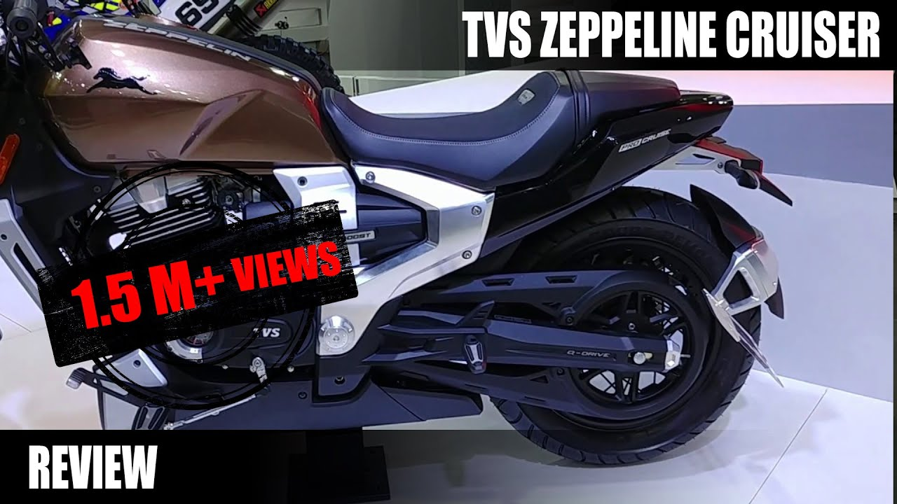 Motoroctane Youtube Video - TVS Zeppelin Cruiser Concept Review in Hindi | Auto Expo 2018 | MotorOctane