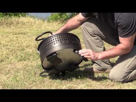 Fire Sense 60,000 BTU Portable Propane Fire Pit