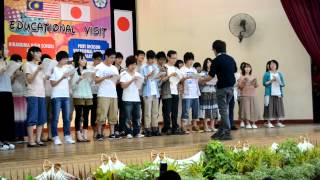 preview picture of video 'educational visit (Hiranuma high school yokohama student visit Port Dickson Vokasional School 2012)'