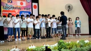 preview picture of video 'educational visit (Hiranuma high school yokohama student visit Port Dickson Vokasional School 2012)'