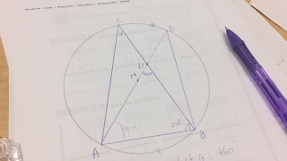 Math Tutorial - High School Geometry Proof