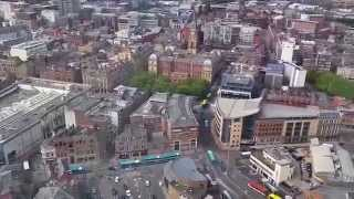 preview picture of video 'View from Radio City Tower, Liverpool'
