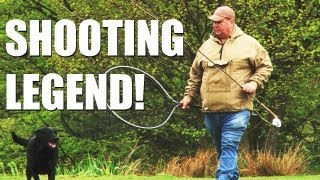 Fieldsports Britain – George Digweed, airgunning pigeons and rabbits, and the Schools Challenge