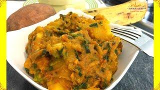 Yam Sweet Potato & Plantain Porridge | Yam Porridge | Yam Pottage | Yummieliciouz Food Recipes