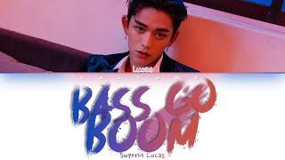 LUCAS (SuperM) - BASS GO BOOM [Color Coded Lyrics Eng]