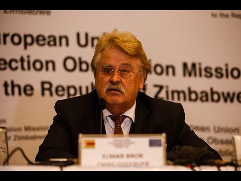 Statement of EUEOM Chief Observer Elmar Brok in Harare