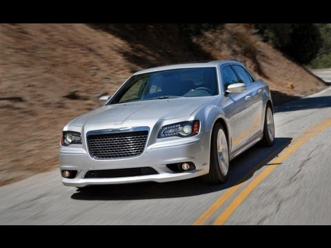 2012 Chrysler 300 SRT8 on Mulholland Drive