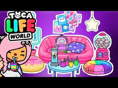 ТОКА БОКА ОБНОВЛЕНИЕ ! Неоновый дом и много мебели ! Toca Life World