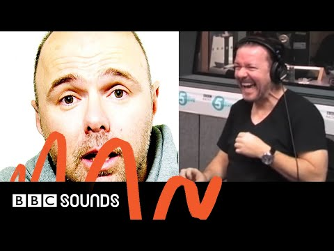 Ricky calls Karl Pilkington on 5 Live