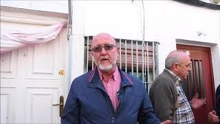 Luis Miguel López Reillo secretario genereal de UGT Marid en el acto de la casa de Peironcely 10