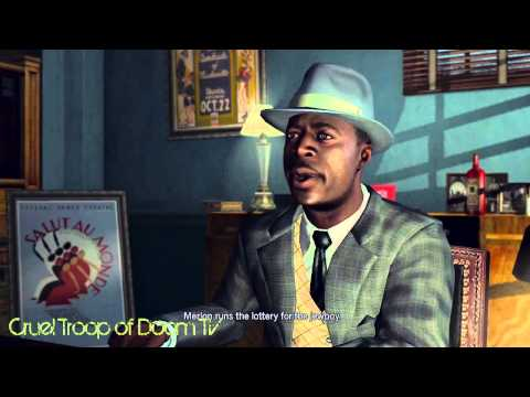 L.A. Noire: Perfect Interrogation - Jermaine Jones at Talent Agency [The Black Ceasar Case]