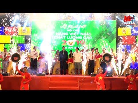 Khai mạc Hội chợ Hàng Việt Nam chất lượng cao năm 2019 tại An Giang