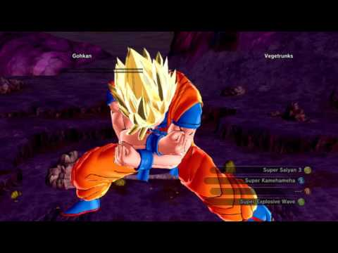 Download Dragon Ball Xenoverse Mods - CAC Gohkan VS Vegetrunks HD Mp4 3GP Video and MP3