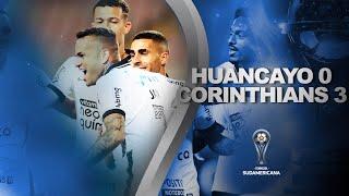 Melhores Momentos | Sport Huancayo 0 x 3 Corinthians | Fase de Grupos | Sudamericana 2021