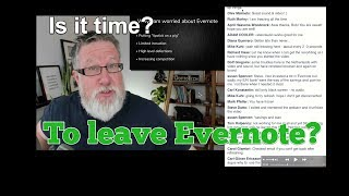 Is it Time to Leave Evernote? Webinar Recap