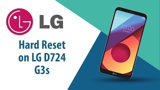 How to Hard Reset on LG G3s D724?