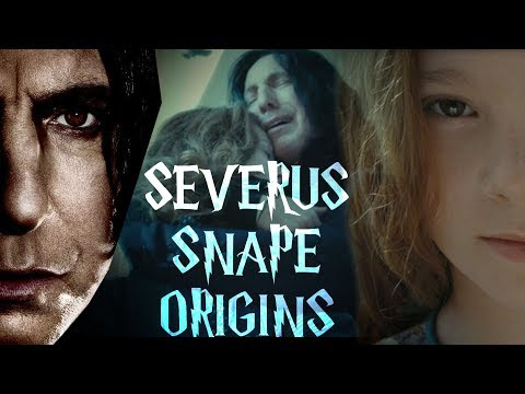 Severus Snape Origins Explained (Childhood to Death)