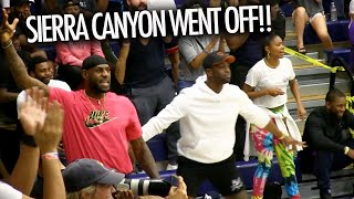 Bronny James Knocks Down 3's In Front Of LeBron & Dwyane Wade! Zaire Wade Is EVOLVING!