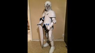 How To Make A (DIY) Knight Costume This Video Was Not Meant To Be Take Seriously